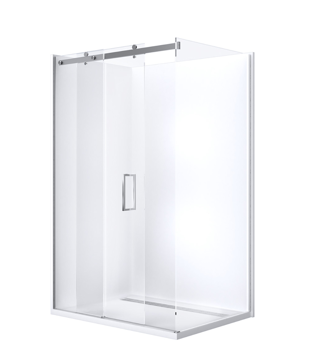 Barossa Slider » Shower Screens, Silver, Silver » Johnson Suisse